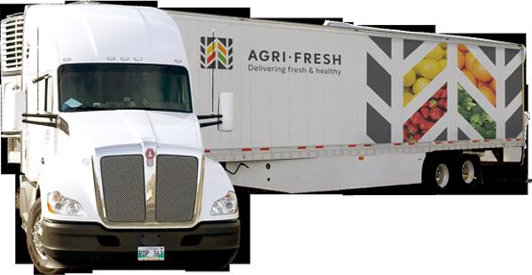 agri-fresh cargo truck