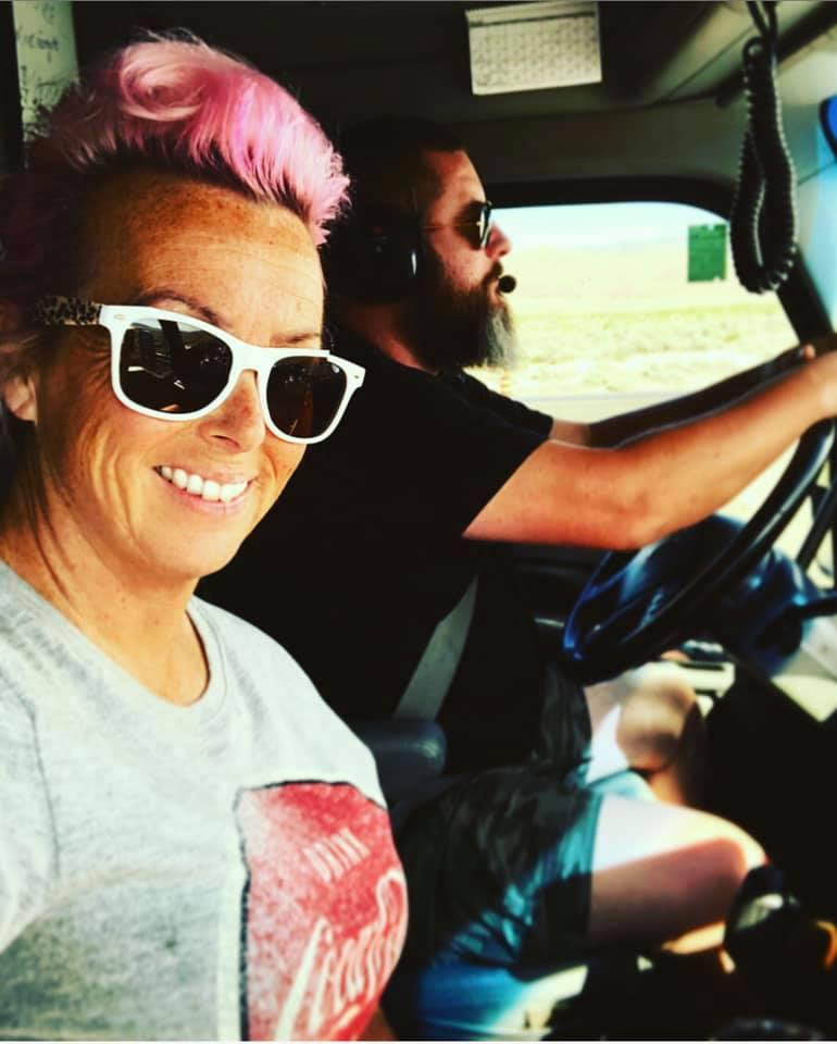 Mack and Erika Driving
